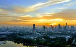 Bangkok zmierzch Fotografia Stock