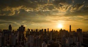 bangkok zmierzch Thailand Zdjęcia Royalty Free
