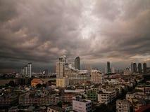Bangkok zmroku chmury zdjęcie wideo