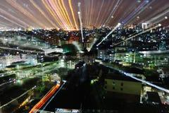 Bangkok zoomu wybuch Obraz Royalty Free