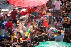 BangkokBangkok Songkran festiwal Zdjęcia Stock