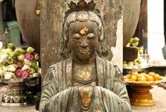 bangkoks佛教全部宫殿雕象 免版税图库摄影