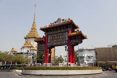 Bangkoks Chinatown stockbild