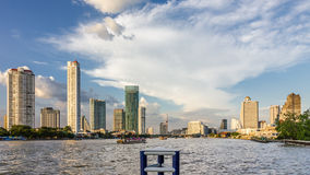 Bangkoks modern Skyline Royalty Free Stock Photos