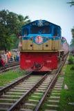 Bangladesch-Eisenbahn Stockfoto