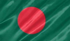 Bangladesch-Flagge stockbilder