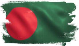 Bangladesch-Flagge Lizenzfreie Stockfotos