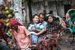 Bangladesch-Leute Stockfoto