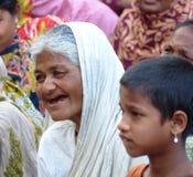 Bangladeschische Frau Stockbild