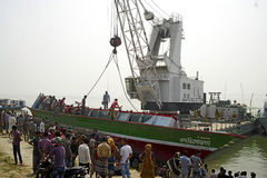 BANGLADESH-CAPSIZED BOAT-CASUALTIES-VICTIMS-PEOPLE Stock Images