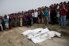 BANGLADESH-CAPSIZED BOAT-CASUALTIES-VICTIMS-PEOPLE Stock Image