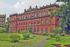 Bangladesh, Dhaka,. Former residence of Lord Carzon, now part of the public university Royalty Free Stock Photos