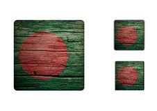Bangladesh Flag Buttons Royalty Free Stock Photo