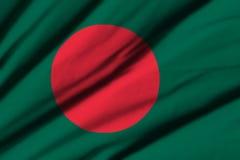 bangladesh flagga Royaltyfri Bild