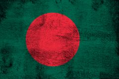 Bangladesh. Grunge and dirty flag illustration. Perfect for background or texture purposes royalty free illustration