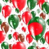 Bangladesh Independence Day Seamless Pattern. Stock Photography