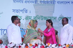 Bangladesh Pri-minister Shiekh Hasina Arkivfoto