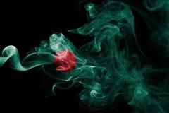 Bangladesh smoke flag Royalty Free Stock Photography
