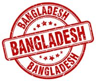 Bangladesh stamp. Bangladesh round grunge stamp isolated on white background. Bangladesh
