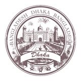Bangladesh-Stempel stock abbildung