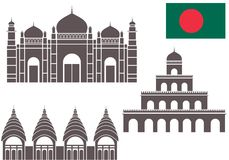 Bangladesh. Vector illustration (EPS 10 royalty free illustration