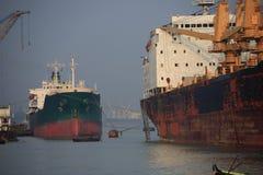 Bangladesh-Verschiffen lizenzfreie stockbilder
