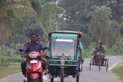Bangladeshi Vehicles stock photo
