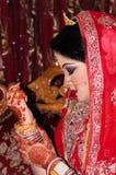 Bangladeshisk brud Royaltyfri Foto