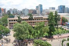 Banglaesh GPO Dhaka Het landschap van de stad stock afbeelding