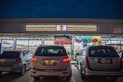 Banglamung, Chonburi το /Thailand - 22 Απριλίου 2018: 7 ένδεκα κατάστημα β Στοκ εικόνες με δικαίωμα ελεύθερης χρήσης