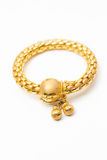 Bangle золота с знаком доллара Стоковая Фотография