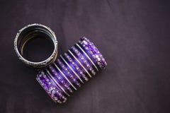 Bangle bracelet Stock Images