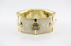 Bangle gold Stock Images