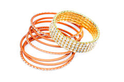 Bangle set Stock Images