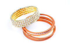 Bangle set Royalty Free Stock Image