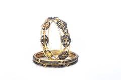 Bangles золота Стоковая Фотография