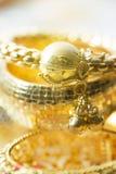 Bangles золота крупного плана Стоковое Фото