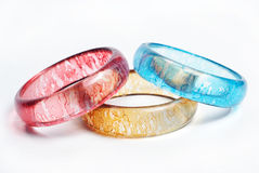 Bangles. Colorful and fashionable bangles for women Stock Image