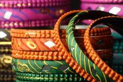 Bangles background Stock Image