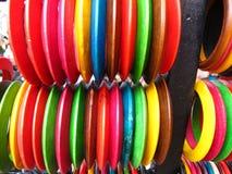 bangles kolorowi Fotografia Royalty Free