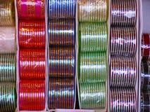 Bangles for sale, Bhimashankar Royalty Free Stock Photography