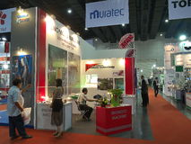 bangna 2014, Bangkok asiean de bitec de metallex Photo stock