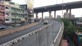 Bangna de la autopista, samutprakarn almacen de metraje de vídeo