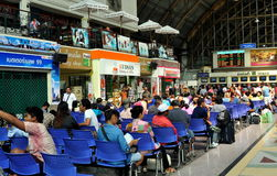Bangok, Thailand: Hua Lamphong Railway Station Stock Photos