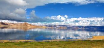 Bangong Lake Royaltyfria Bilder