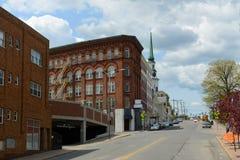 Bangor du centre historique, Maine images libres de droits