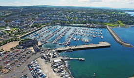 Bangor marina Co.Down Northern Ireland Royalty Free Stock Photo