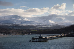 Bangor Pier Stock Photo