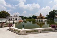 bangpa宫殿 免版税库存照片