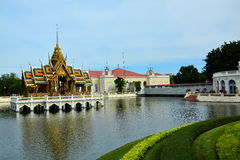 Bangpa-dans Royal Palace Image stock